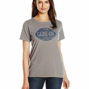 Life is Good Womens T-Shirt Life is Short Game On